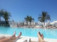 I dag så var det poolen som gällde!