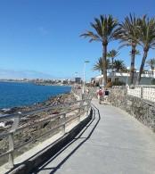Dagens prommenad, San Agustin till Playa del Ingles.