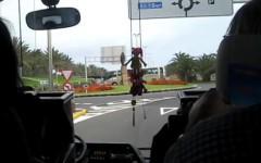 Buss till Los Arcos 2010