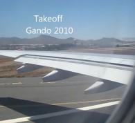 Takeoff Gando