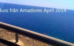 Buss från Amadores 2014